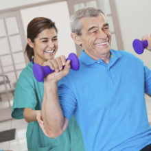 Rehabilitation & Therapy at Park Manor of The Woodlands nursing home in The Woodlands, TX.